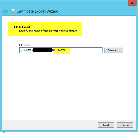 How to deploy Remote Desktop Services 2012 R2 Certificates using