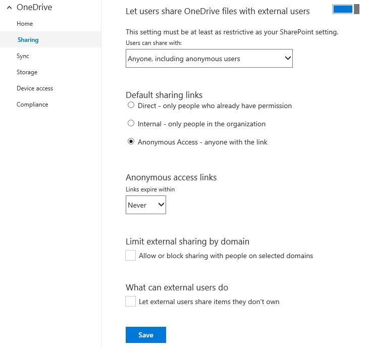 onedrive-for-business-admin-preview-sharing