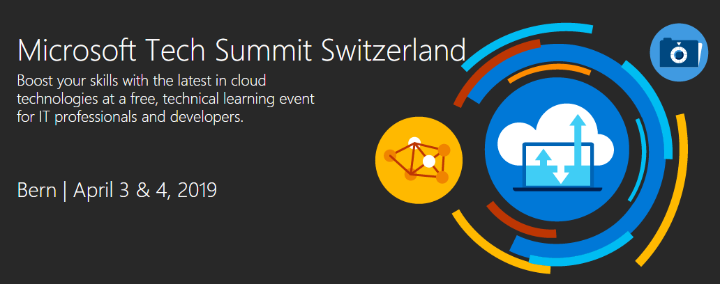 Speaking at Microsoft Tech Summit & Experts Live in Switzerland